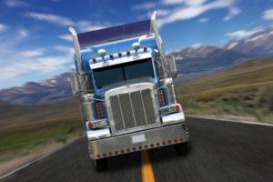 Override Truck Accident, Bakersfield