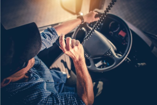 Truck Driver Fatigue, Merced, accident